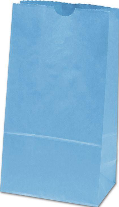"Sky Blue SOS Bags, 4 1/4 x 2 3/8 x 8 3/16"""