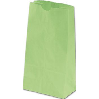Lime Green SOS Bags, 4 1/4 x 2 3/8 x 8 3/16