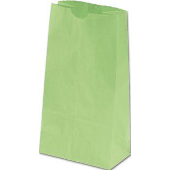 Lime Green SOS Bags, 4 1/4 x 2 3/8 x 8 3/16