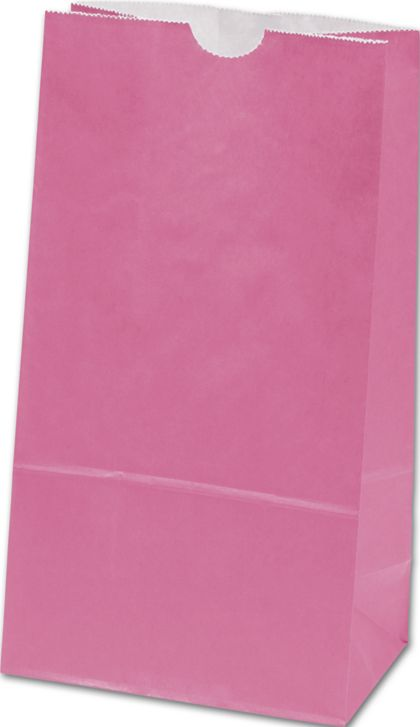 Hot Pink SOS Bags, 4 1/4 x 2 3/8 x 8 3/16""
