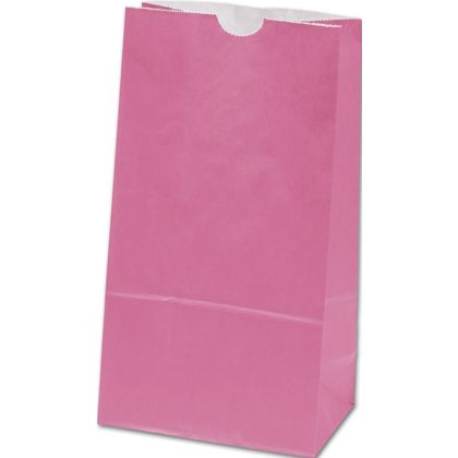 Hot Pink SOS Bags, 4 1/4 x 2 3/8 x 8 3/16