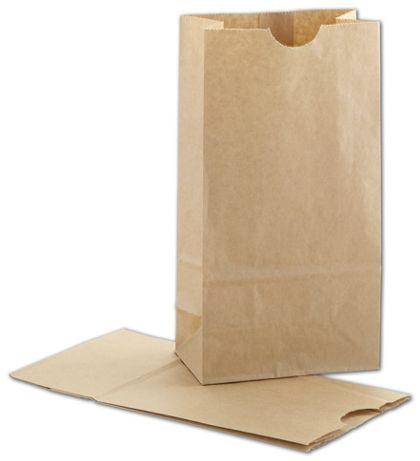"""Kraft SOS Bags, 4 1/4 x 2 3/8 x 8 3/16"""""""