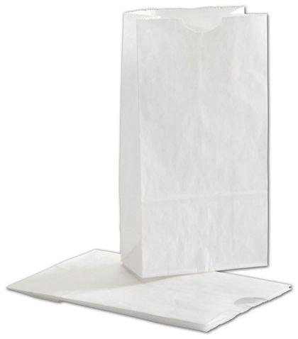"""White SOS Bags, 4 1/4 x 2 3/8 x 8 3/16"""""""