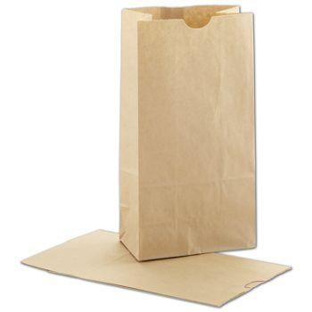 Kraft SOS Bags, 5 x 3 1/8 x 9 5/8