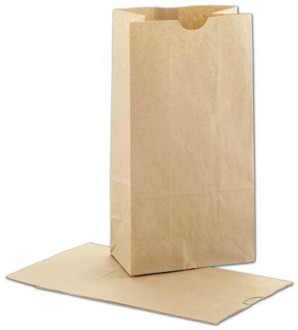 """Kraft SOS Bags, 5 x 3 1/8 x 9 5/8"""""""