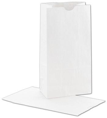 White SOS Bags, 5 x 3 1/8 x 9 5/8