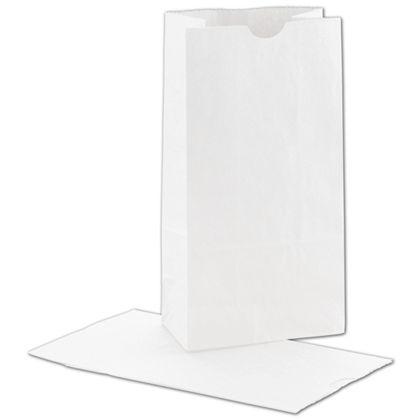 """White SOS Bags, 5 x 3 1/8 x 9 5/8"""""""