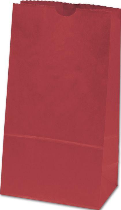 """Brick Red SOS Bags,  6 x 3 5/8 x 11 1/16"""""""