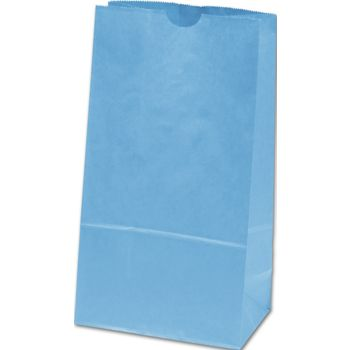 Sky Blue SOS Bags,  6 x 3 5/8 x 11 1/16