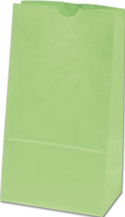 "Lime Green SOS Bags, 6 x 3 5/8 x 11 1/16"""
