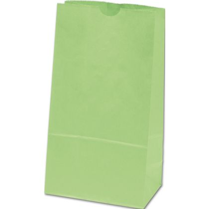 Lime Green SOS Bags, 6 x 3 5/8 x 11 1/16