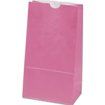 Hot Pink SOS Bags, 6 x 3 5/8 x 11 1/16