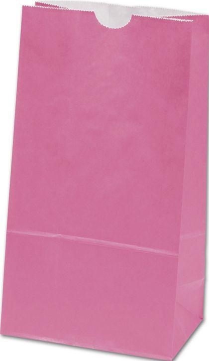 "Hot Pink SOS Bags, 6 x 3 5/8 x 11 1/16"""