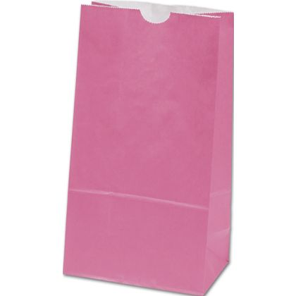 Hot Pink SOS Bags, 6 x 3 5/8 x 11 1/16""
