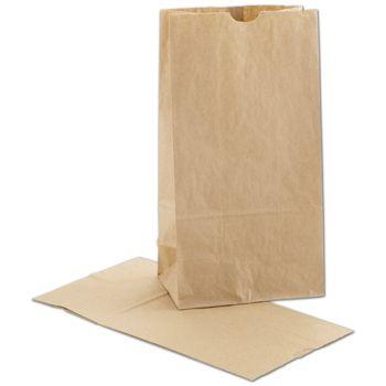Kraft SOS Bags, 6 x 3 5/8 x 11 1/16