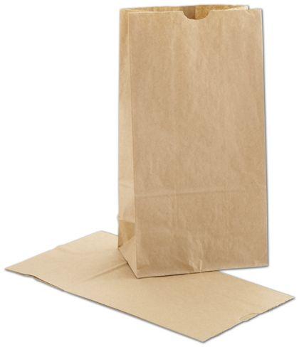"""Kraft SOS Bags, 6 x 3 5/8 x 11 1/16"""""""