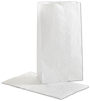 White SOS Bags, 6 x 3 5/8 x 11 1/16