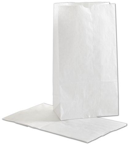 """White SOS Bags, 6 x 3 5/8 x 11 1/16"""""""