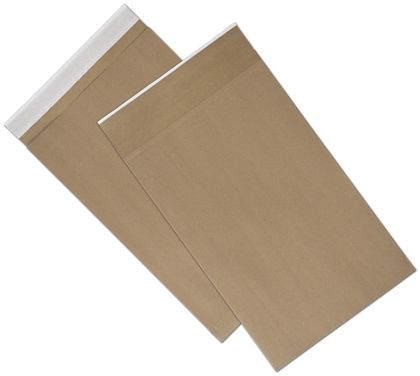 Natural Kraft Unprinted Eco-Mailers, 12 1/2 x 4 x 20""