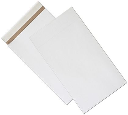 White Unprinted Eco-Mailers, 12 1/2 x 4 x 20""