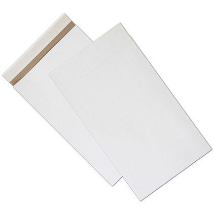 "White Unprinted Eco-Mailers, 12 1/2 x 4 x 20"""