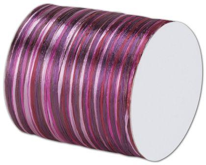 "Raffia Pearl Cerise Multi Ribbon 1/4"" x 55 Yds"