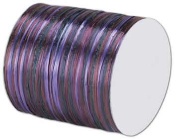 Raffia Pearl Purple Multi Ribbon 1/4