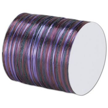 Raffia Pearl Purple Multi Ribbon 1/4