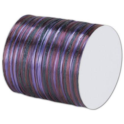 """Raffia Pearl Purple Multi Ribbon 1/4"""" x 55 Yds"""