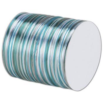 Raffia Pearl Light Blue/Turquoise Multi Ribbon