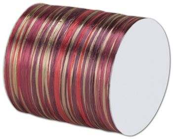 Raffia Pearl Burgundy Multi Ribbon 1/4