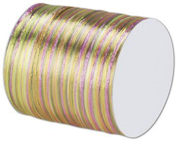 Raffia Pearl Multicolor Ribbon 1/4