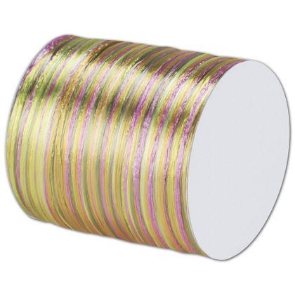 "Raffia Pearl Multicolor Ribbon 1/4"" x 55 Yds"