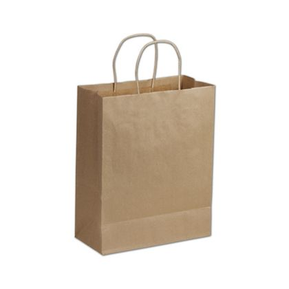 Kraft Paper Shoppers Lindsey, 10 x 5 x 13