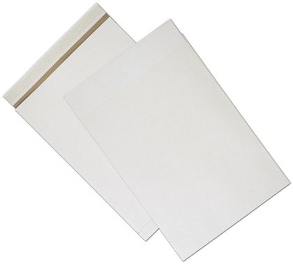White Unprinted Eco-Mailers, 14 1/4 x 20""