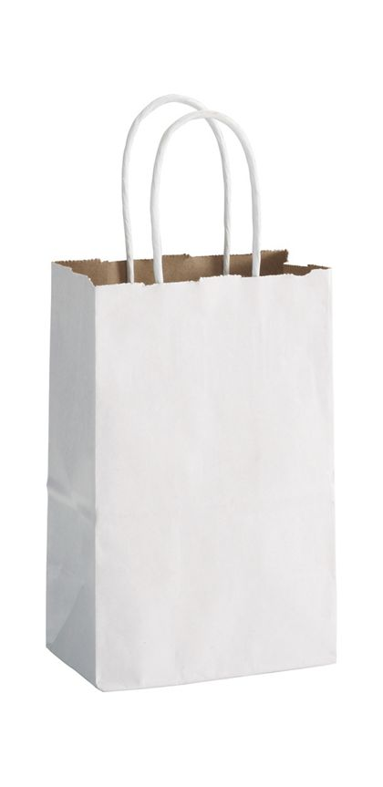White Duet Shoppers Mini Cub, 5 1/4 x 3 1/2 x 8 1/4""