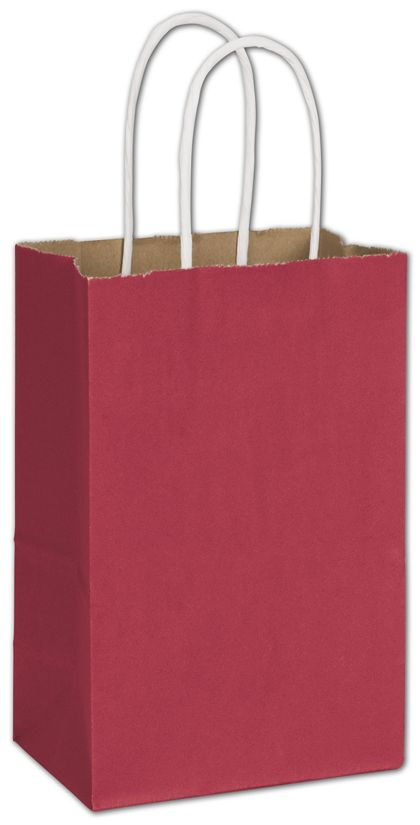 "Crimson Radiant Shoppers, 5 1/4 x 3 1/2 x 8 1/4"""