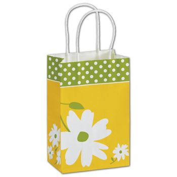 Dashing Daisy Shoppers, 5 1/4 x 3 1/2 x 8 1/4""