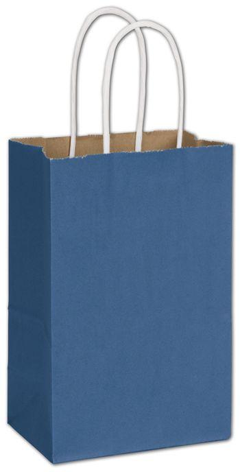 Nautical Blue Radiant Shoppers, 5 1/4 x 3 1/2 x 8 1/4