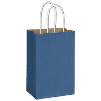Nautical Blue Radiant Shoppers, 5 1/4 x 3 1/2 x 8 1/4