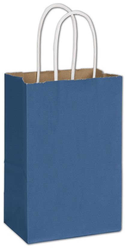 Nautical Blue Radiant Shoppers, 5 1/4 x 3 1/2 x 8 1/4""