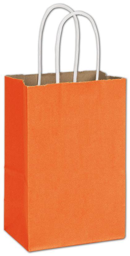 "Pumpkin Radiant Shoppers, 5 1/4 x 3 1/2 x 8 1/4"""