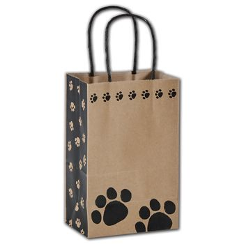 Precious Paws Shoppers, 5 1/4 x 3 1/2 x 8 1/4