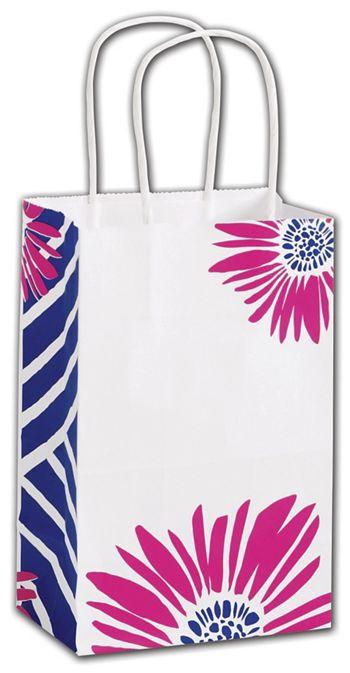Petals Shoppers, 5 1/4 x 3 1/2 x 8 1/4