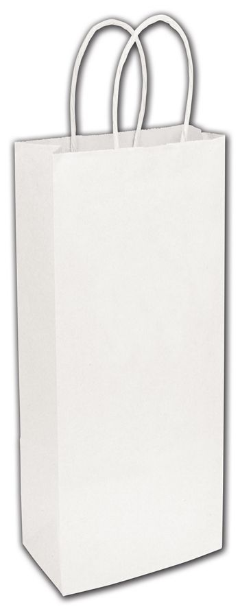 White Paper Shoppers Wine, 5 1/4 x 3 1/2 x 13