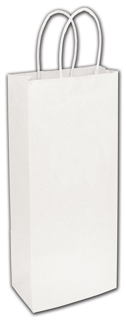 White Paper Shoppers Wine, 5 1/4 x 3 1/2 x 13""
