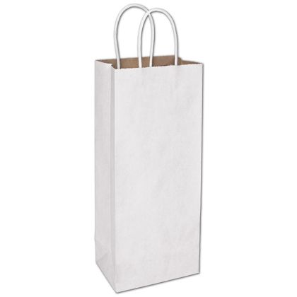 White Duet Shoppers Wine, 5 1/4 x 3 1/2 x 13""