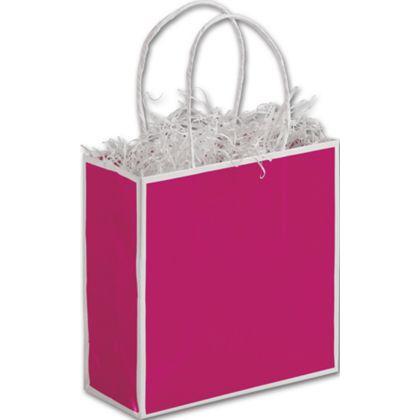 Fillmore Fuchsia Shoppers, 7 x 3 x 7