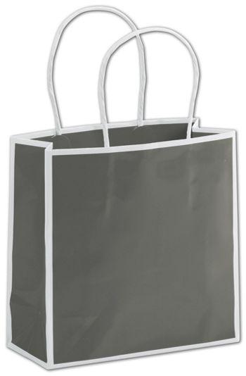 Slate Grey Shoppers, 7 x 3 x 7