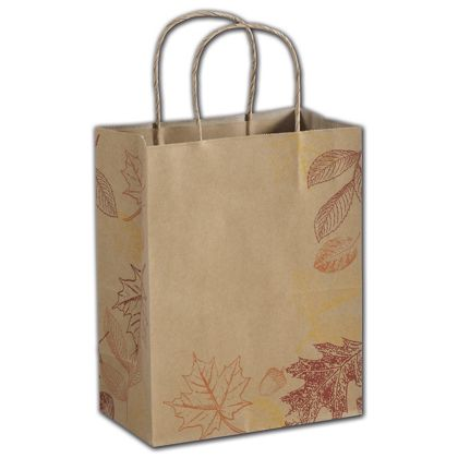 "Autumn Shoppers, 8 1/4 x 4 3/4 x 10 1/2"""